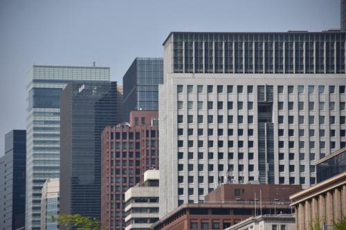 東京・大手町のオフィスビル群(写真:日経アーキテクチュア)