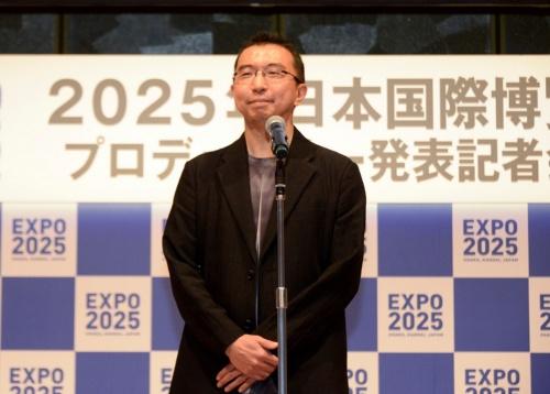 会場デザインプロデューサーに就任した、建築家の藤本壮介氏。藤本壮介建築設計事務所を主宰している(写真:2025年日本国際博覧会協会)