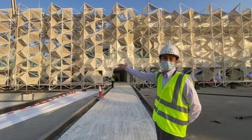 大林組グループの大林ミドルイーストが施工を担当(写真:永山祐子建築設計、20年11月28日時点)
