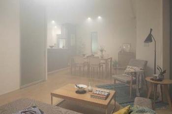 室内を意図的に汚染させた状態。SMART-ECSの運転前(写真:積水ハウス)