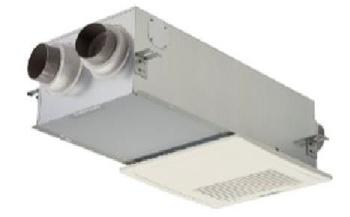 熱交換型換気ユニット。厚生労働省が推奨する建築物衛生法において、商業施設などで求められる1人当たり30m<sup>3</sup>/h以上の換気量を家全体で確保(写真:積水ハウス)