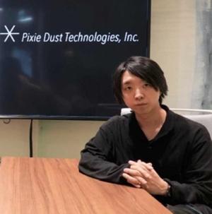 ピクシーダストテクノロジーズの代表取締役CEOを務める落合陽一氏(写真:東京建物、ピクシーダストテクノロジーズ)