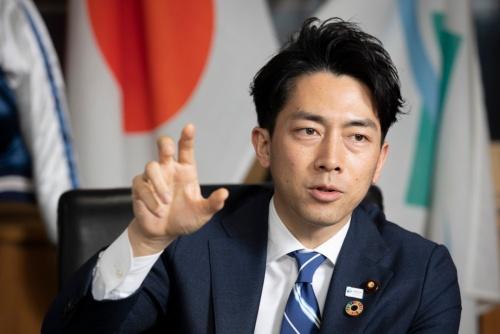 小泉進次郎 環境大臣