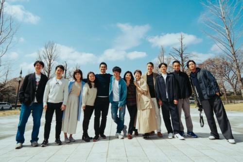 SANUのメンバー。左から5番目が福島弦氏、同6番目が本間貴裕氏(写真:SANU)
