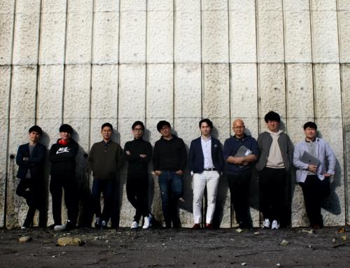 Polyuseのメンバー。ハードウエアやソフトウエア、材料などの専門家が開発を進めている(写真:Polyuse)