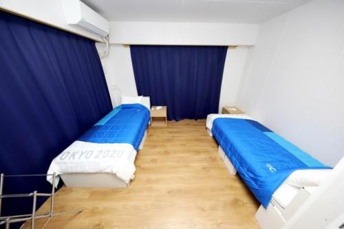 2人部屋の例(写真:Tokyo 2020)
