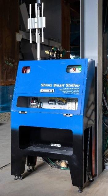 ベースタイプの「スマート分電盤」(写真:清水建設)