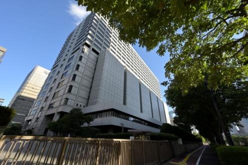 東京地方裁判所の外観。東京デザインウィークでの事故を巡って、東京地裁は日本工業大学の元学生2人に有罪判決を下した(写真:日経アーキテクチュア)
