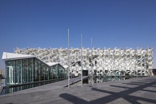 ドバイ万博「日本館」(写真:2020年ドバイ国際博覧会日本館広報事務局)