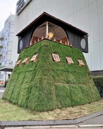 「五庵」の外観。21年7月に撮影(写真:日経クロステック)