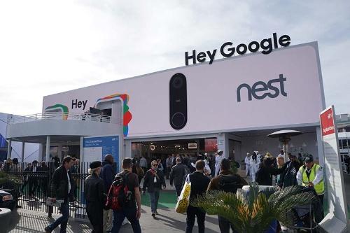 グーグルがCESに設けた「Google Assistant」のパビリオン