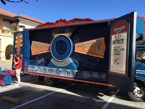 写真1●アマゾンの「Treasure Truck」