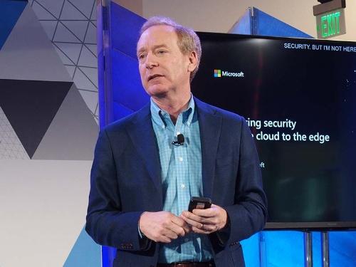 マイクロソフトのブラッド・スミス社長