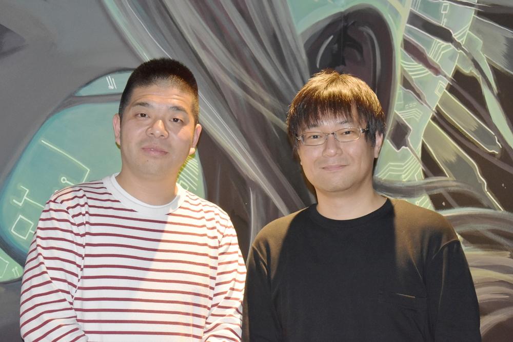 ユーザーローカルの伊藤将雄氏(右)とシバタナオキ氏(左) (撮影:伊藤健吾、以下同じ)