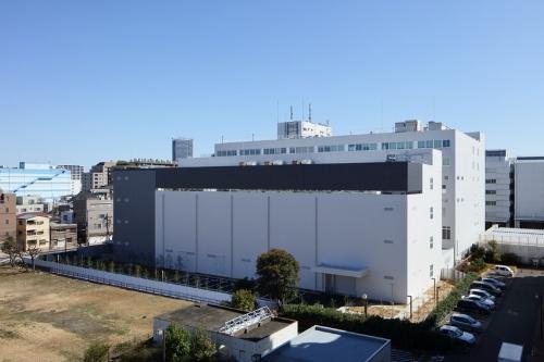 エクイニクス・ジャパン「TY5」データセンターの外観
