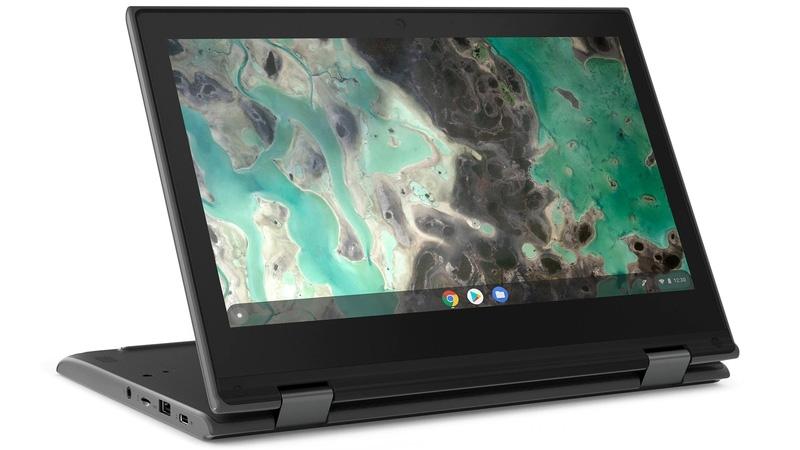 検証事業後、2018年度からはレノボ・ジャパンの「500e Chromebook」を採用 (出所:レノボ・ジャパン)
