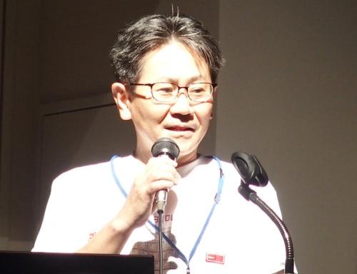 PFU ドキュメントイメージビジネスユニット ビジネス推進統括部長の松本秀樹氏
