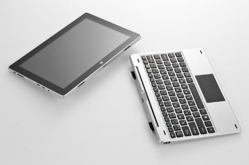 本体とキーボードは分離できる
