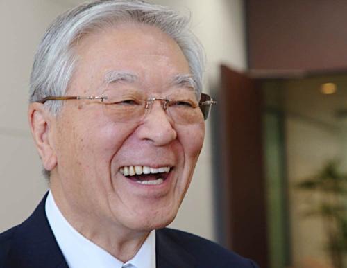 偉ぶらず気さくな笑顔で周囲を明るくした中西宏明氏(写真:陶山 勉)