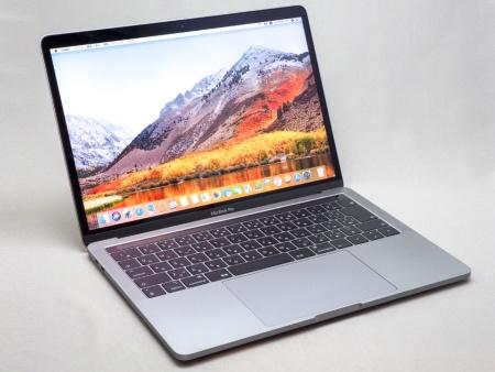 写真1●13インチMacBook Pro(タッチバー搭載、2018年モデル)