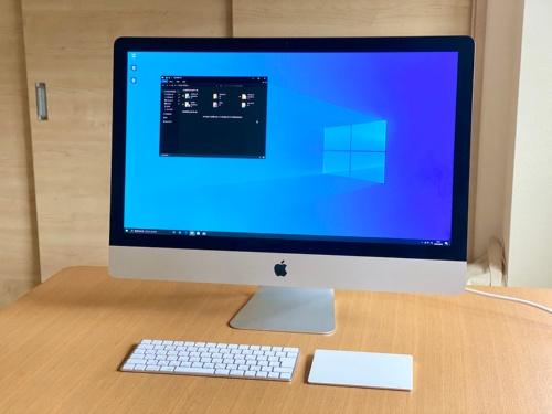 「iMac 5K」の2020年モデルはインテル製プロセッサー搭載なので、標準の「Boot Camp」を使用してWindowsをネイティブ動作させられる