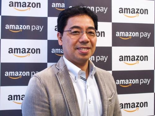 写真4●アマゾンジャパン Amazon Pay事業本部本部長の井野川拓也氏