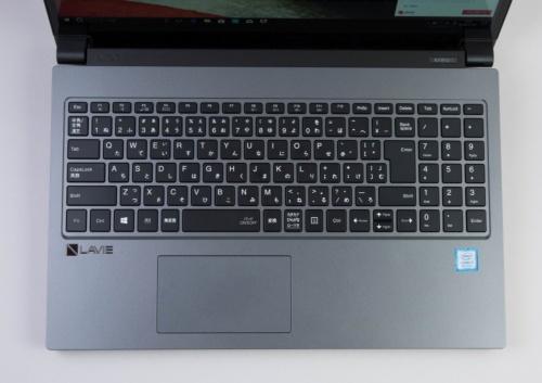 キーボードもデザインは美しいが、矢印キーが小さいなど、使い勝手に影響しそうだ