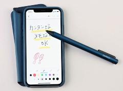 専用ペンがないiPhone Xでも利用できる