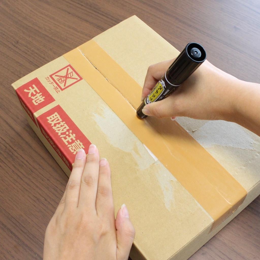 安全に開けられる対象はクラフトテープ(紙のテープ)と布テープ (出所:ゼブラ)