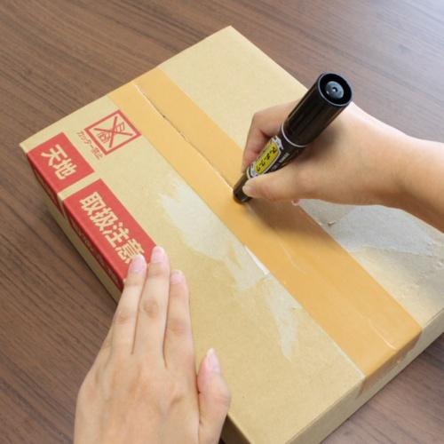 安全に開けられる対象はクラフトテープ(紙のテープ)と布テープ