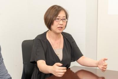 MiTERU取締役の東智美さん