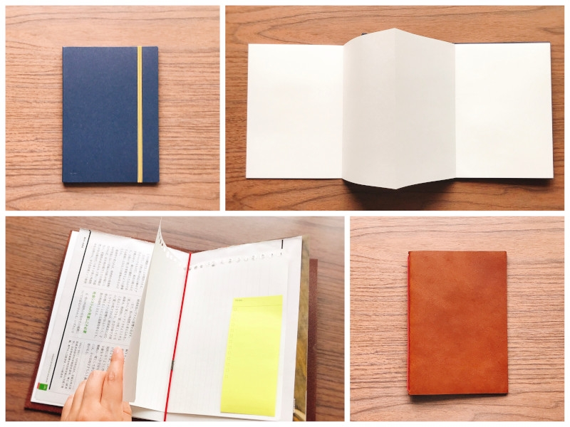 アイデアの発想には手書きが向く。技ありノートでさらに思考を加速させる (写真は筆者撮影、コラージュ作成は編集部)