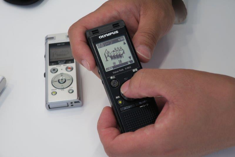 オリンパスをはじめ、主要メーカーの製品はシーン別の設定が用意されている。これを活用すれば失敗の少ない録音が可能