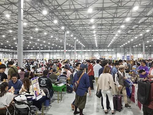 アナログゲームのイベント「ゲームマーケット2019春」の様子