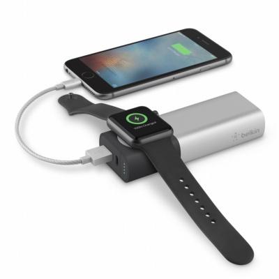 Apple WatchとiPhoneなどを同時に充電できる