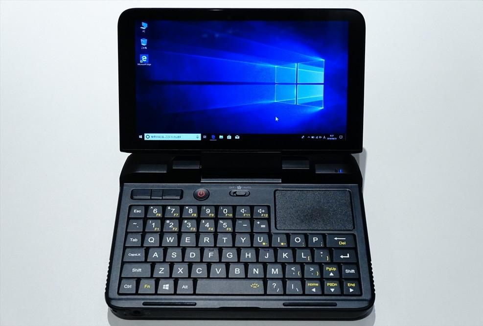 GPD MicroPC (撮影:伊藤浩一、以下同じ)