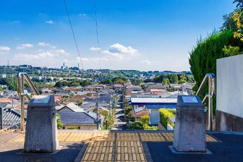 町並みの写真には場所を特定する情報がいっぱい(写真:gandh/PIXTA)