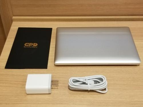 GPD P2 Maxのパッケージ内容
