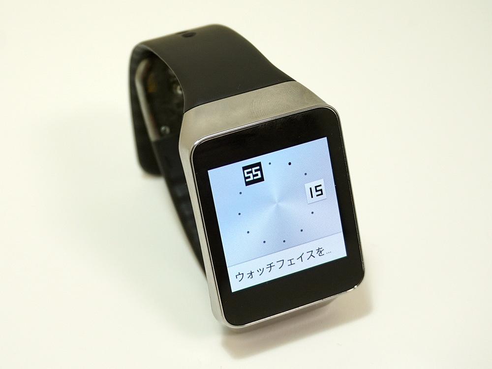 韓国サムスン電子(Samsung Electronics)の「Gear Live」。当時の購入価格は2万2000円だった