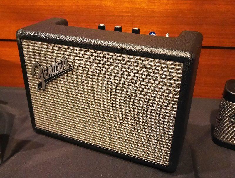 Black Fender Monterey Bluetooth Speaker