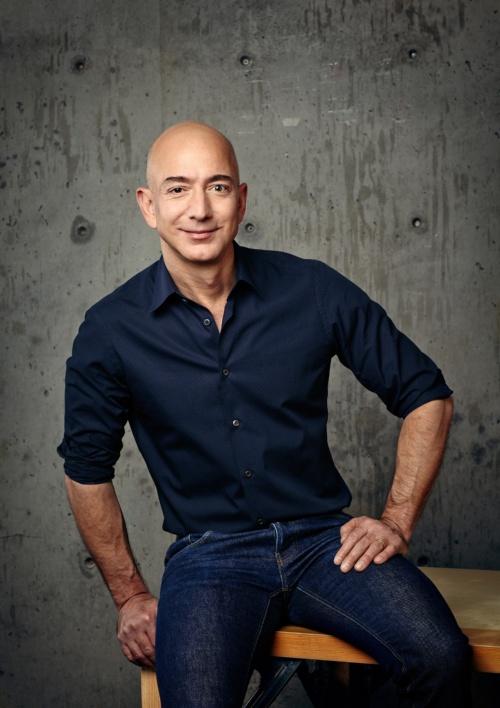 AmazonのJeff Bezos最高経営責任者(CEO)