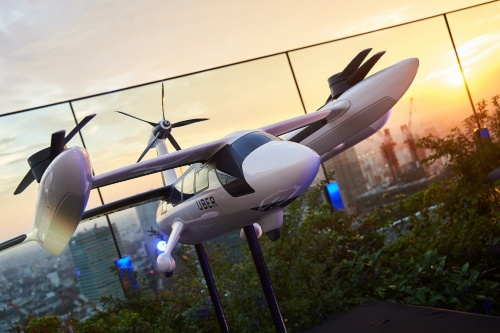Uber Elevate部門が開発する垂直離着陸機