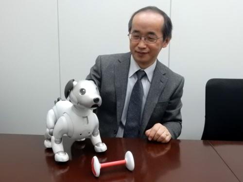 豊橋技術科学大学 情報・知能工学系 教授の岡田美智男氏