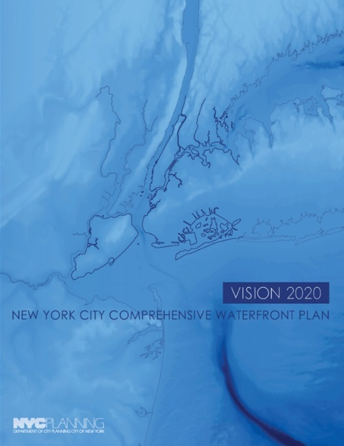 Vision 2020: New York City's Comprehensive Waterfront Plan(出所:NYC)