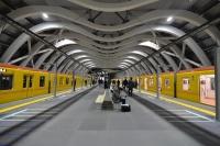 2020年1月3日午前5時1分の始発列車から供用開始した東京メトロ銀座線渋谷駅の新駅舎ホーム