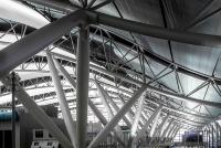 4階の天井。何の建物か分かりますか?