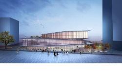 フランス国鉄(SNCF)が開発する新駅「サンドニ・プレイエル駅」。国際コンペの末、設計者は隈研吾氏に決まった。完成は2023年ごろの予定だ