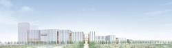 特別目的会社の羽田みらい開発が5月10日に発表した「羽田空港跡地第1ゾーン整備事業(第1期事業)」の完成イメージ。同社には鹿島など9社が出資している
