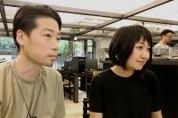 左がサポーズデザインオフィス共同代表の谷尻誠氏、右が同・吉田愛氏