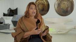 ビデオに登場したザハ・ハディド氏(資料:Zaha Hadid Architects)